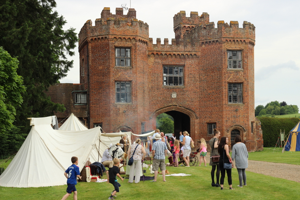 WKDC Display at Lullingstone Castle 28th & 29th May
