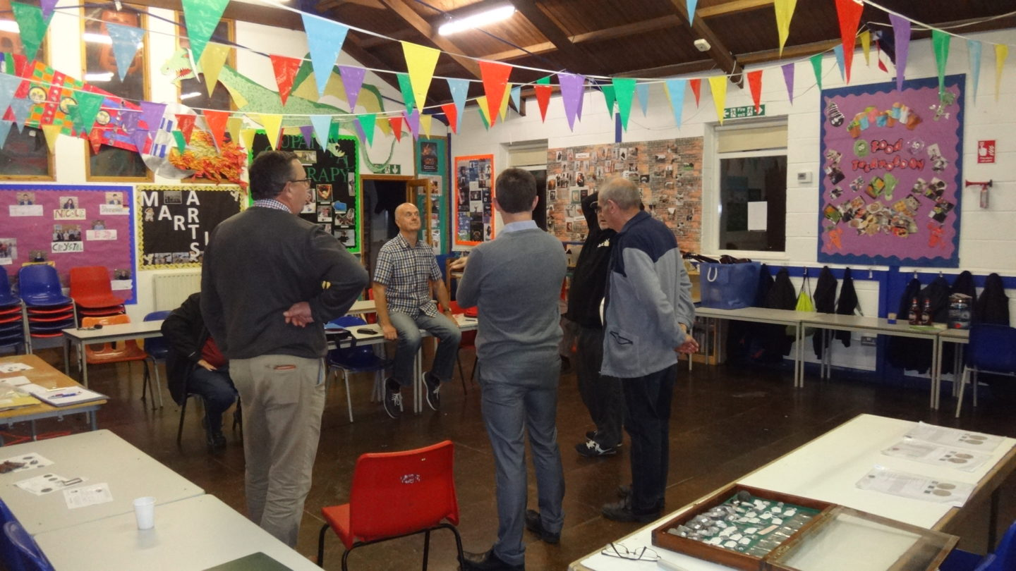 Evening meeting Friday 19th August